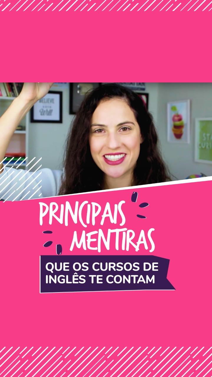 Principais mentiras que os de inglês cursos te contam - Curso de Inglês Online