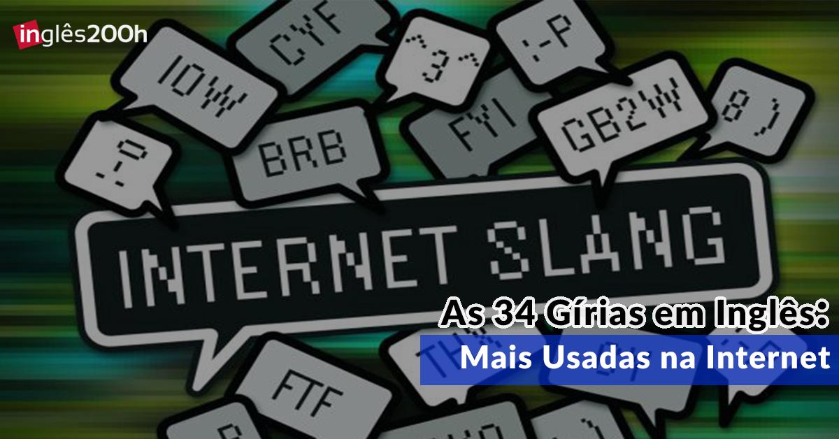 As 34 Grias em Ingls Mais Usadas na Internet