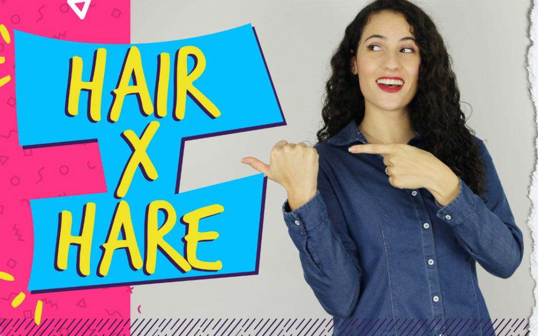 Diferença entre HAIR e HARE: