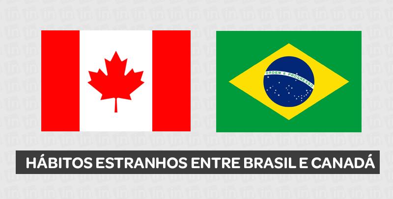 brasil e canada - Curso de Inglês Online
