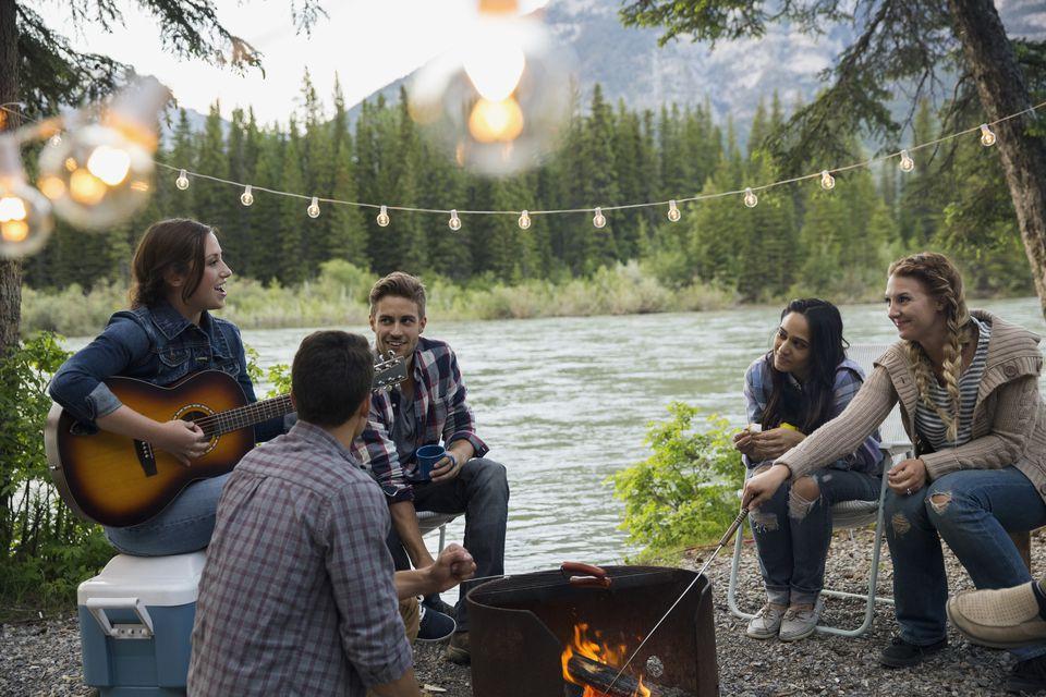 camping friends - Curso de Inglês Online