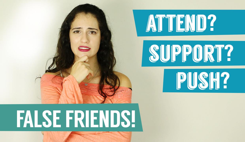 False friends – O que são? | Dicas de inglês