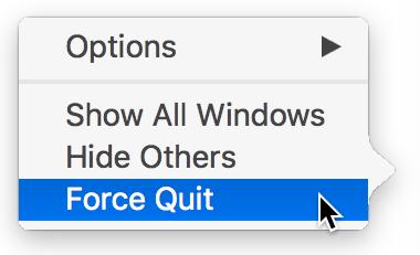 force quit - Curso de Inglês Online