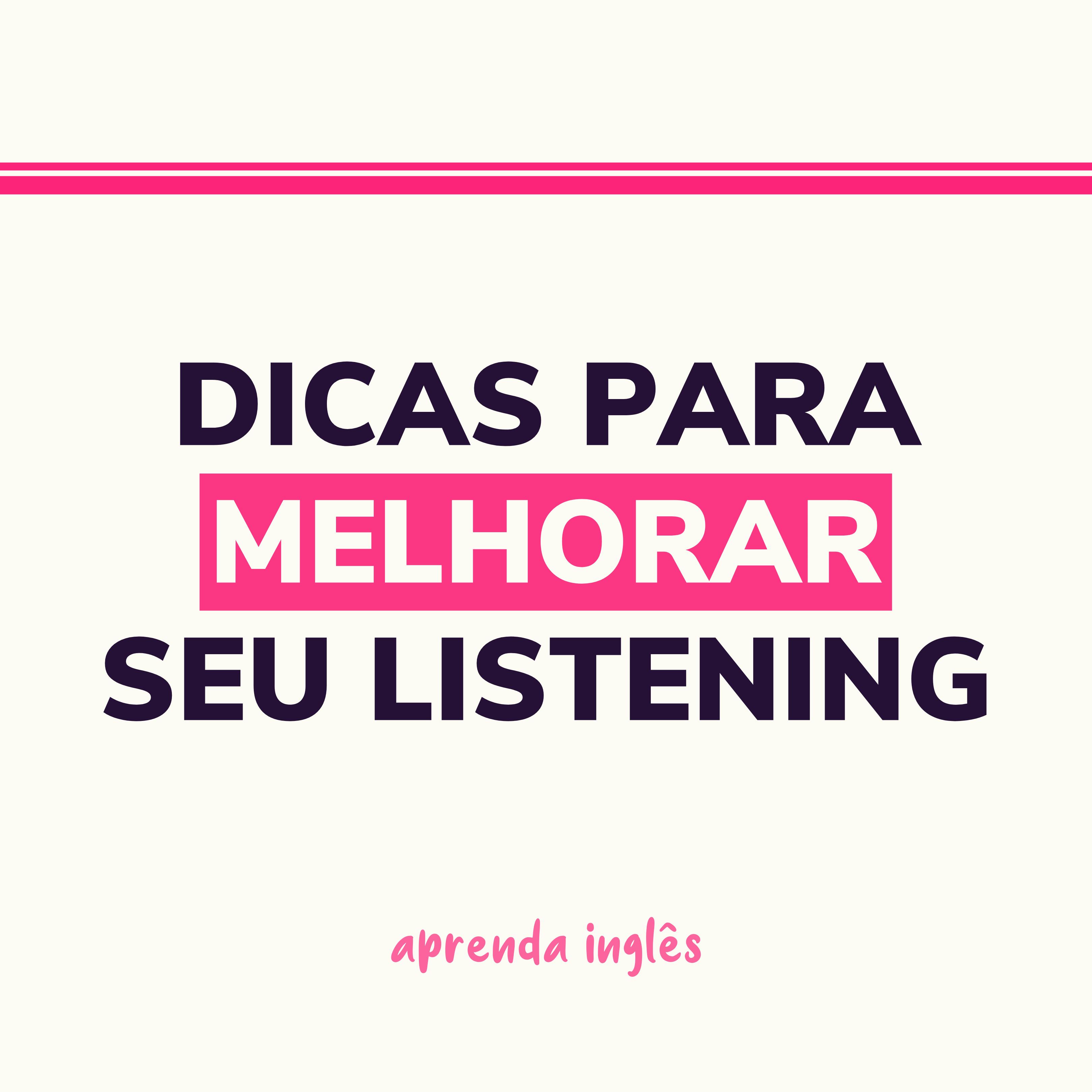 melhorar seu listening - Curso de Inglês Online