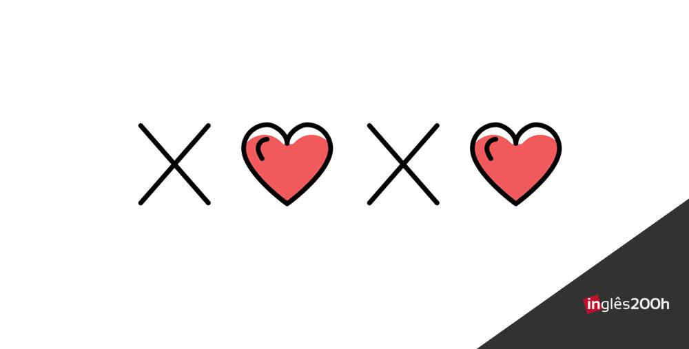 xoxo como dizer beijos e abracos em ingles copy - Curso de Inglês Online